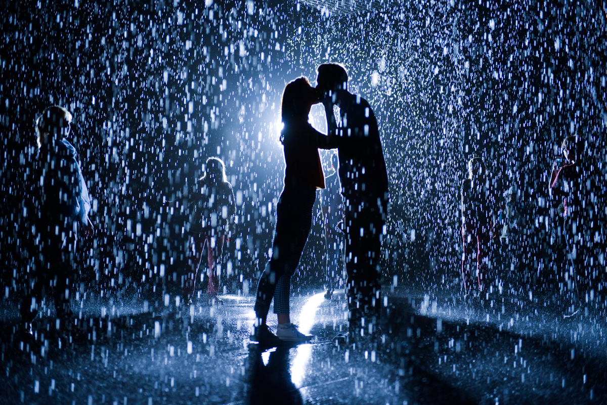 Lacma rain exhibition