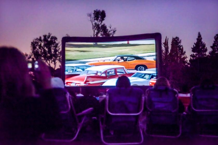 Outdoor Movie Night photo by: Sarah Prikryl
