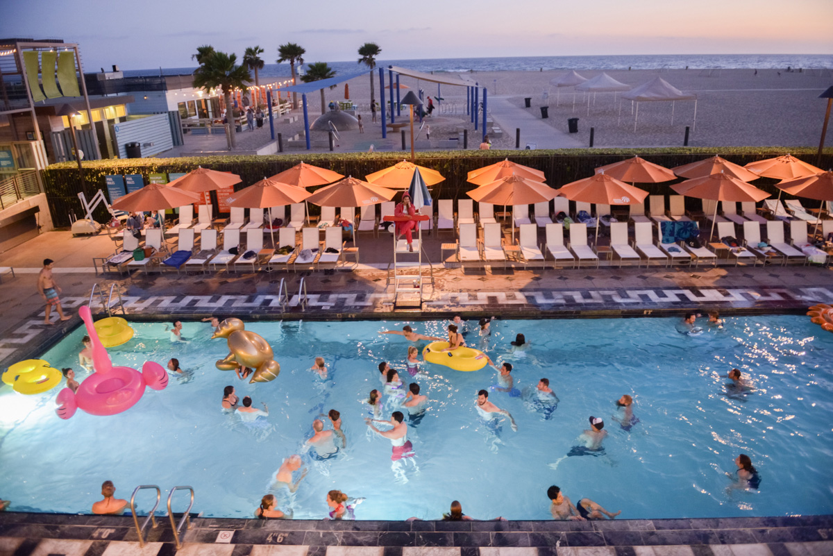 Sunset Swim 2017~ The Annenberg Community Beach House