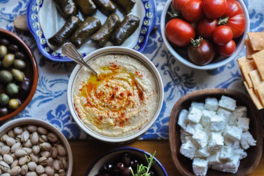Hummus photo by: Sarah Prikryl Recipe by: Christina Huntington